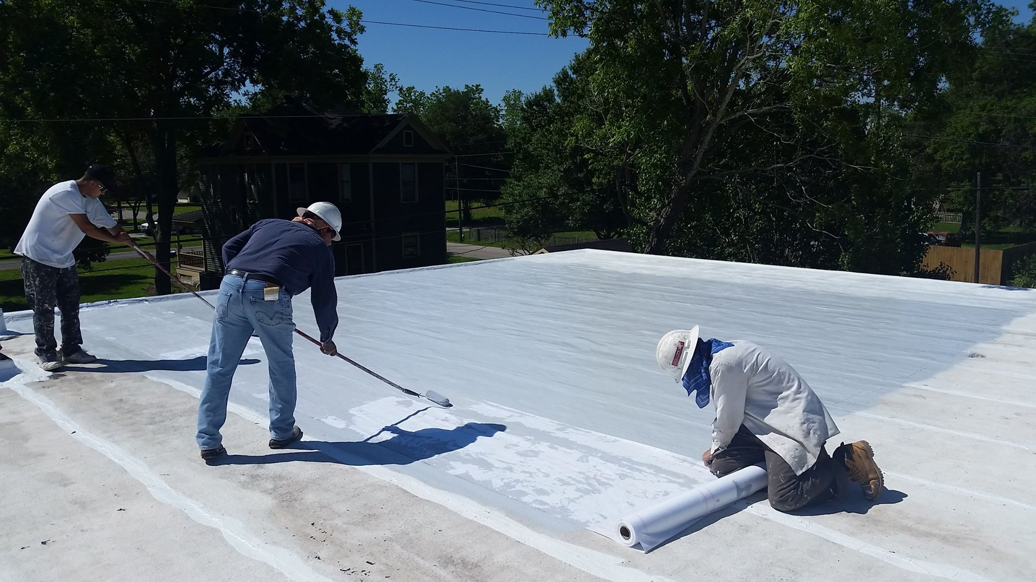 Commercial Roofing in Dallas, TX – Elastomeric Roof Coating