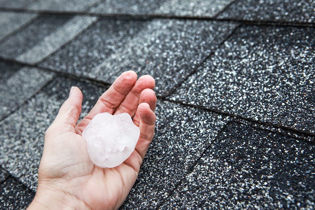 Roof-Hail-Damage-in-Fort-Worth,-TX--When-to-Call-a-Commercial-Roofing-Company